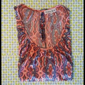 Carol Rose Blouse XL